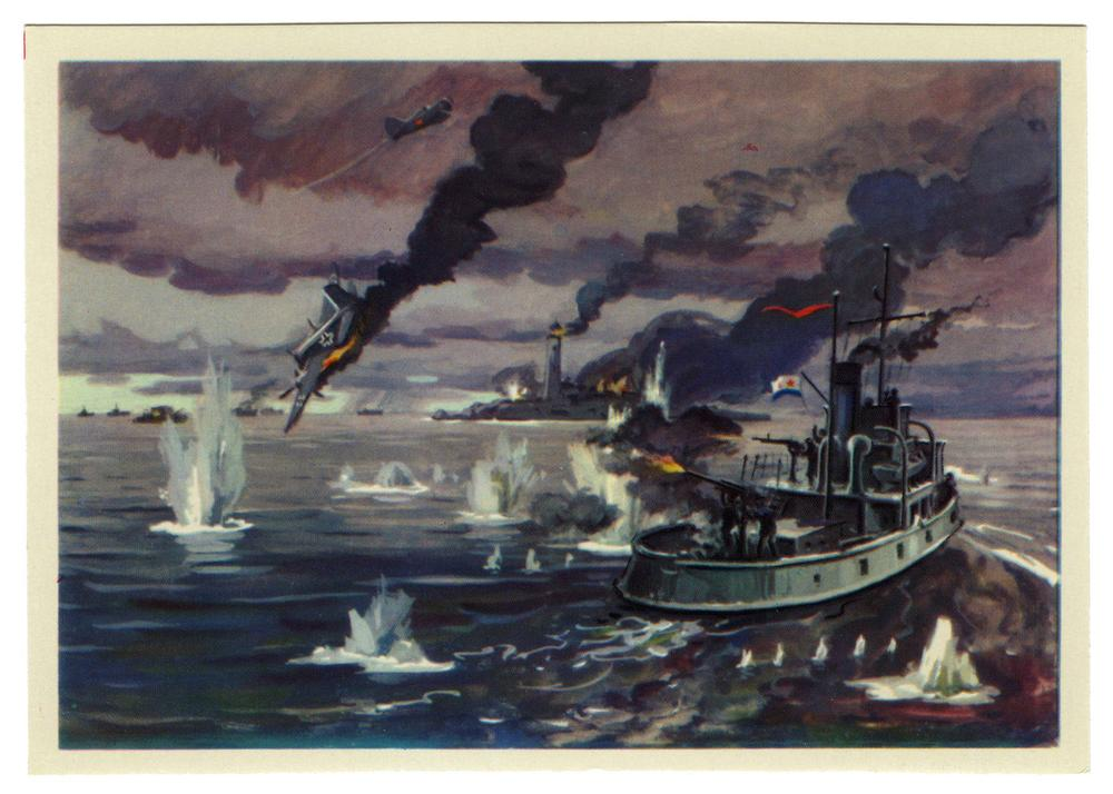 Балтийский флот в годы вов
