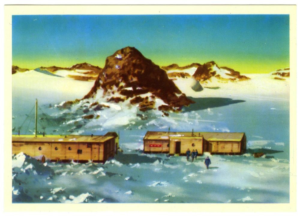 Викторов в. открытки, днем